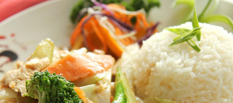Poulet aux légumes
