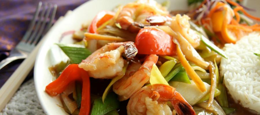 Crevettes asiatiques